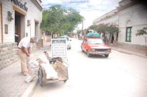 O Dacie veche, pe străzi argentiniene