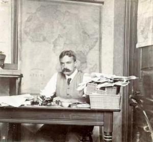 Edmund Morel (sursa: Adam Hochschild, King Leopold's Ghost)